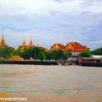 On the Chao Praya river