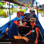 Taking a Boat ride on the Khlongs