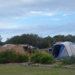 Camping in Munmorah State Recreation Area, NSW