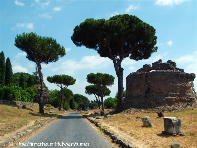 paved-road-on-appian-way