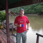 Scott @ Kitti Raft - River Kwai
