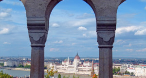 Budapest from fishermans bastion