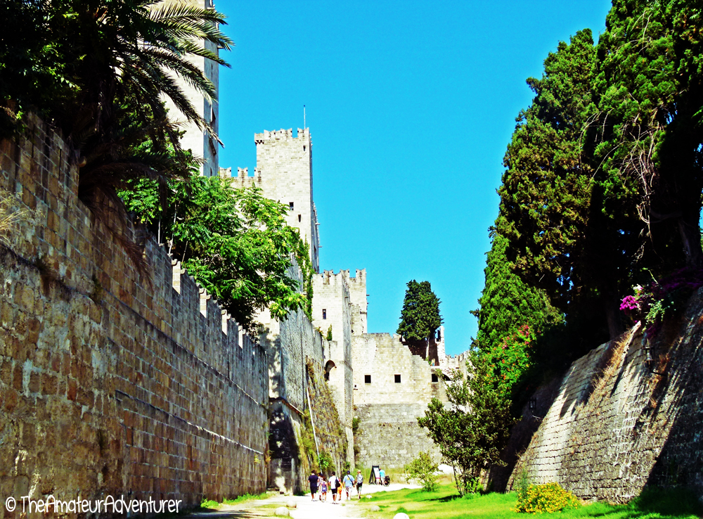 Old city of Rhodes