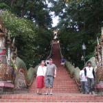 The steps to Doi Suthep