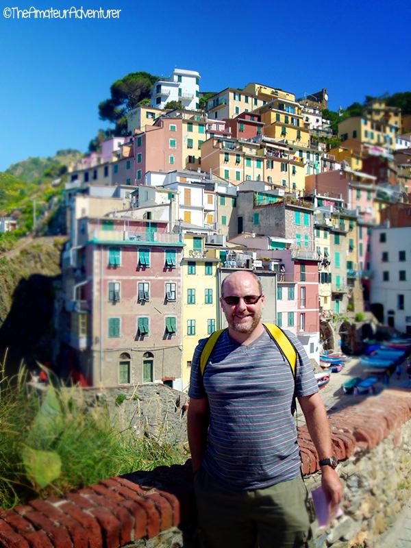 Scott in Riomaggiore