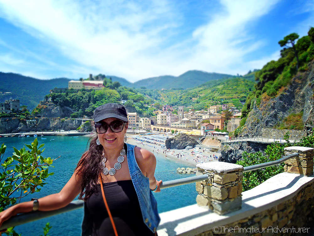 Shelly at Monterosso